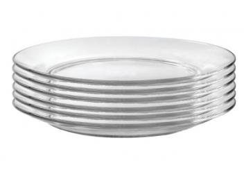 סט 6 תחתיות לכוסות דורלקס זכוכית