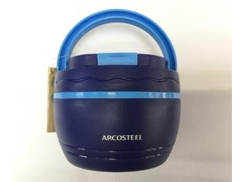 טרמוס אוכל ארקוסטיל 0.5 ליטר + ידית נשיאה כחול