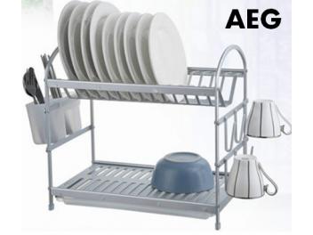 מייבש כלים C אלומיניום 2 קומות AEG Collection  איכות גבוהה
