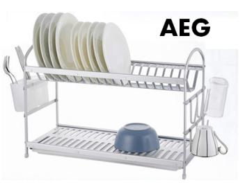 מייבש כלים אלומניום 2 קומות E צר AEG Collection  איכות גבוהה