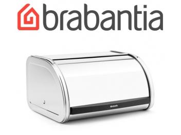 קופסת לחם בינונית, מכסה מתגלגל - מבריק Brabantia