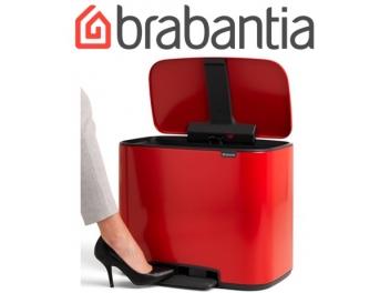 ָ*כולל משלוח עד הבית* BO פח פדל 36 ליטר, אדום תשוקה Brabantia