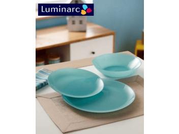 מערכת אוכל 18 חלקים לומינארק דגם Arty ירוק Luminarc