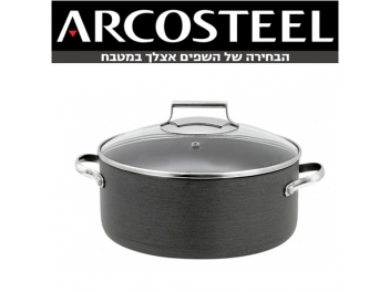 סיר 7.5 ליטר יהלום ARCOSTEEL DIAMOND קוטר 28 ס