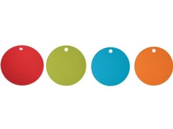 תחתית לסיר חם עגולה במבחר צבעים