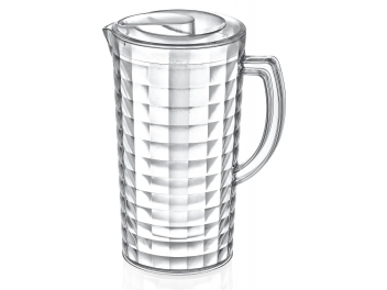 כד מים אקריל עם מכסה 2 ליטר  פלסטיק IRAK