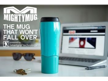 כוס טרמית שאינה נופלת Mighty Mug צבע טורקיז