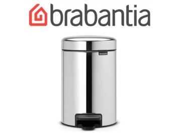 פח פדל 3 ליטר מבריק  Brabantia - NewIcon + שקית אשפה ברבנטיה מתנה