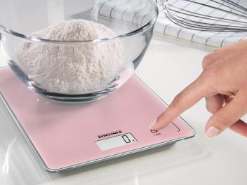 *משלוח חינם* משקל מטבח ורוד יוקרתי Page Compact 300, Delicate Rosé