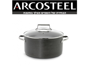 סיר 5.5 ליטר יהלום ARCOSTEEL DIAMOND קוטר 24 ס