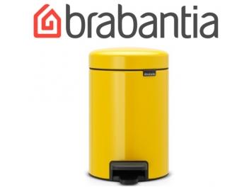 פח פדל 3 ליטר צהוב דייזי Brabantia - NewIcon + שקית אשפה ברבנטיה מתנה