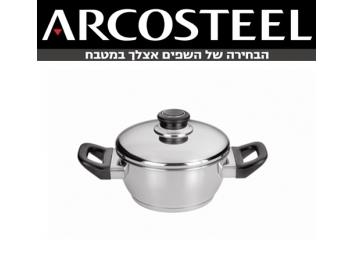 סיר ארקוסטיל סדרת אורן 1.4 ליטר נירוסטה