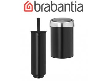 סט לשירותים, נתלה שחור מט Brabantia