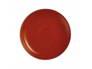 סט 6 צלחות עמוקות ויבראנס אדום לומינארק