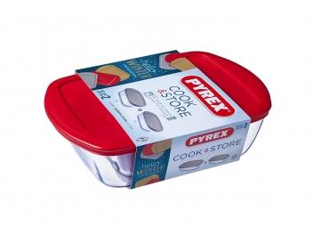 סט 2 קופסאות פיירקס קוק סטור Cook Store מכסה אדום