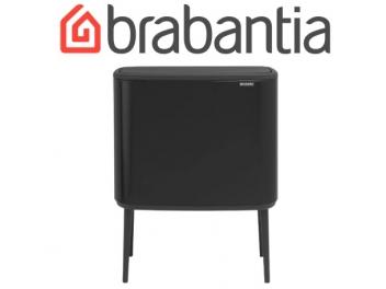 BO פח טאץ 36 ליטר, שחור מט Brabantia + מטלית מיקרופייבר מתנה