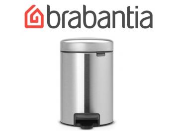 פח פדל 3 ליטר מט Brabantia - NewIcon FPP + שקית אשפה ברבנטיה מתנה