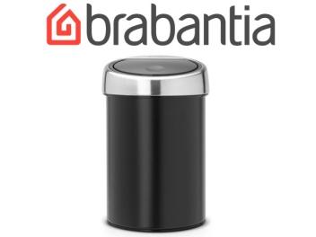פח טאץ 3 ליטר שחור, כולל תליה Brabantia