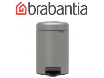 פח פדל 3 ליטר אפור בטון מינרלי Brabantia - NewIcon