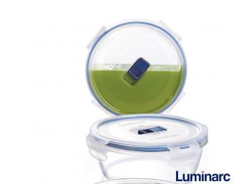 קופסאת אחסון לומינארק עגולה 0.92 ליטר פיורבוקס
