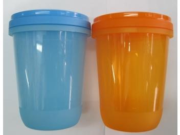 קופסאת פלסטיק מכסה הברגה 1 ליטר