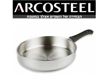 מחבת ארקוסטיל גליל נירוסטה 28 ס