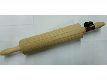 מערוך עץ מתגלגל 38 ס״מ עבה