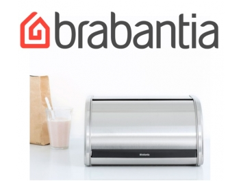 קופסת לחם בינונית, מכסה מתגלגל - מט Brabantia