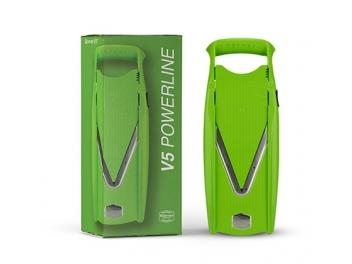 מנדולינה בורנר Borner V5-S עם איחסונית לסכינים צבע ירוק יבואן רשמי תוצרת גרמניה