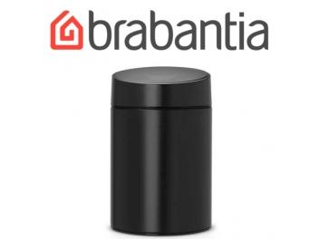 פח אשפה סלייד 5 ליטר שחור Brabantia