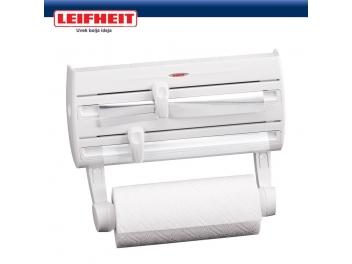 מתקן משולב לניילון אלומיניום ונייר למטבח LEIFHEIT לרכישה 03-9447171 או 03-6839338 או קוד קופון 6332