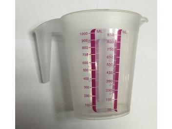 כד מידה 1 ליטר פלסטיק קשיח