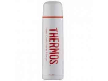 טרמוס נירוסטה לבן סדרת קלאסיק THERMOS בנפח 0.5 ליטר