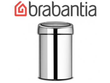 פח טאץ 3 ליטר מבריק, כולל תליה Brabantia