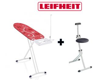 ָ*משלוח חינם* מארז גיהוץ הכולל שולחן גיהוץ וכיסא לשולחן LeifHeit
