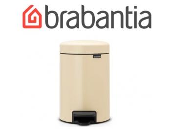 פח פדל 3 ליטר אלמונד Brabantia - NewIcon + שקית אשפה ברבנטיה מתנה