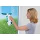 שואב ומנקה החלונות הנטען מבית LEIFHEIT דגם 51002+מסבן/מקרצף