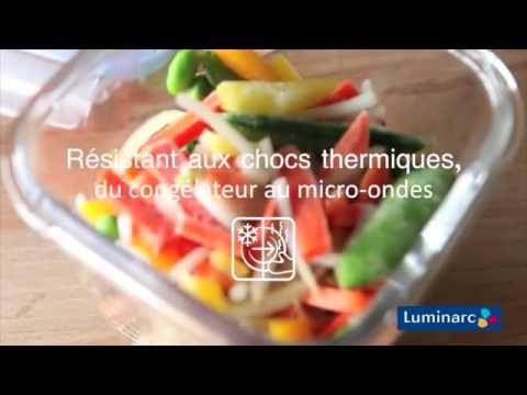 קופסאת אחסון לומינארק עגולה 0.42 ליטר פיורבוקס