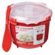 סיר אורז למיקרו סיסטמה ארקוסטיל  + כף הגשה לאורז של חברת סיסטמה ®Sistema