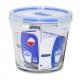 קופסאת אחסון לומינארק עגולה גבוהה 0.84 ליטר פיורבוקס