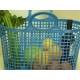 סל שוק פלסטיק להזמנות 03-9447171 או 03-6839338 Market Basket - ניתן לבחור צבעים - מחיר 12.83 ₪