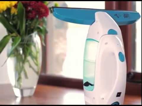 סט מנקה חלונות חשמלי LEIFHEIT עם מסבן/מקרצף דגם 51002 +מוט 1.9 מטר מחיר בטלפון 03-9447171