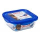 קופסאת אחסון פיירקס נפח 1.9 ליטר מרובעת קוק אנד גו Cook&Go זכוכית