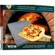 אבן שמוט מלבנית לפיצה+כף הרמה תוצרת איטליה איכות גבוהה