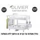 *כולל משלוח עד הבית* מתקן לייבוש כלים 2 קומות עם ניקוז מתכוונן 360 ומעמד לקרש חיתוך וכוסות יין OLIVIER תוצרת קוריאה דגם P