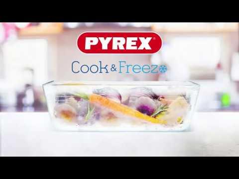 מארז 3 קופסאות פיירקס Pyrex מכסה לבן 4 ליטר
